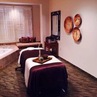 One of The Massage Rooms at The Spa
